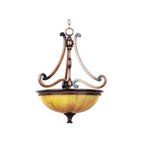 Maxim Lighting Marquis 3 Light Pendant in Umber Wormwood 12354PVUWW