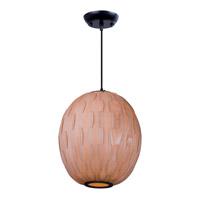 Maxim Lighting Norwood 1 Light Pendant in Black 12402UDBK