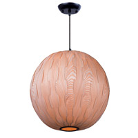 Maxim Lighting Norwood 1 Light Pendant in Black 12407UDBK