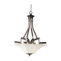 Maxim Lighting Mission Bay 2 Light Pendant in Heirloom Brass 12422FLHB