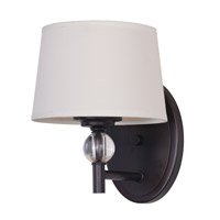 Maxim Lighting Rondo 1 Light Wall Sconce in Oil Rubbed Bronze 12761WTOI