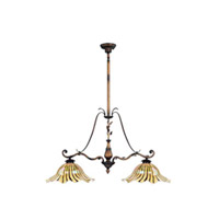 Maxim Lighting Vigneto 2 Light Island Pendant in Wormwood 13110TGWW