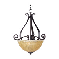 Maxim Lighting Barcelona 3 Light Pendant in Oil Rubbed Bronze 13411AIOI