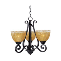 Maxim Lighting Barcelona 3 Light Mini Chandelier in Oil Rubbed Bronze 13413AIOI