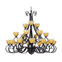 Maxim Lighting Barcelona 21 Light Multi-Tier Chandelier in Oil Rubbed Bronze 13417AIOI