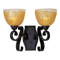 Maxim Lighting Barcelona 2 Light Wall Sconce in Oil Rubbed Bronze 13422AIOI