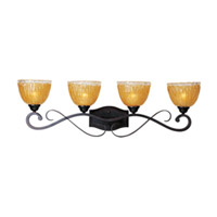 Maxim Lighting Barcelona 4 Light Bath Light in Oil Rubbed Bronze 13424AIOI