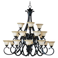 Allentown 20 Light 50 inch Oil Rubbed Bronze Multi-Tier Chandelier Ceiling Light
