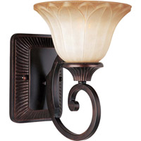 Maxim Lighting Allentown 1 Light Wall Sconce in Oil Rubbed Bronze 13511WSOI