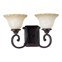 Maxim Lighting Allentown 2 Light Wall Sconce in Oil Rubbed Bronze 13512WSOI