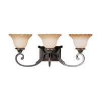 Allentown 3 Light 26 inch Oil Rubbed Bronze Bath Light Wall Light