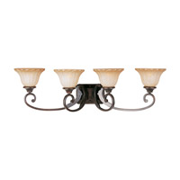 Maxim Lighting Allentown 4 Light Bath Light in Oil Rubbed Bronze 13514WSOI