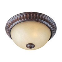 Maxim Lighting Augusta 2 Light Flush Mount in Auburn Florentine 13561CFAF photo thumbnail