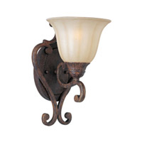 Maxim Lighting Augusta 1 Light Wall Sconce in Auburn Florentine 13571CFAF photo thumbnail
