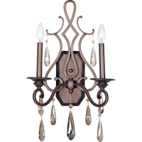 Maxim Lighting Chic 2 Light Wall Sconce in Heritage 14309HR