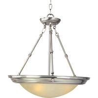 Maxim Lighting Signature 3 Light Pendant in Satin Nickel 15844ICSN