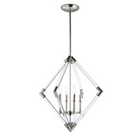 Maxim 16104CLPN Lucent 4 Light 24 inch Polished Nickel Multi-Light Pendant Ceiling Light