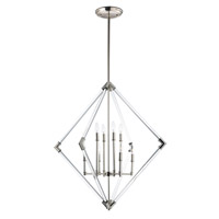 Lucent 8 Light 36 inch Polished Nickel Multi-Light Pendant Ceiling Light