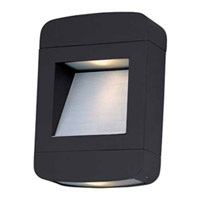 Optic 2 Light 11 inch Architectural Bronze Outdoor Wall Mount