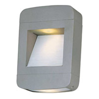 Maxim Lighting Optic 2 Light Outdoor Wall Mount in Platinum 18250PL