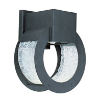 Maxim Lighting Opus 1 Light Outdoor Wall Mount in Black Oxide 18264KGBO