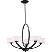 Elle 5 Light 30 inch Oil Rubbed Bronze Single Tier Chandelier Ceiling Light
