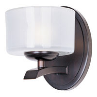 Maxim Lighting Elle 1 Light Wall Sconce in Oil Rubbed Bronze 19051FTOI