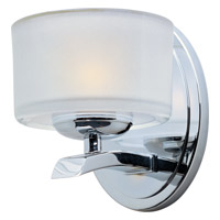 Maxim Lighting Elle 1 Light Wall Sconce in Polished Chrome 19051FTPC