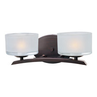 Maxim Lighting Elle 2 Light Bath Light in Oil Rubbed Bronze 19052FTOI photo thumbnail