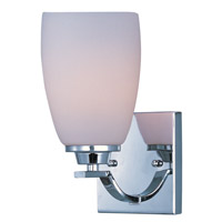 Maxim Lighting Rocco 1 Light Wall Sconce in Polished Chrome 20020SWPC