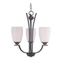 Maxim Lighting Rocco 3 Light Mini Chandelier in Oil Rubbed Bronze 20023SWOI