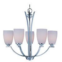 Maxim Lighting Rocco 5 Light Single Tier Chandelier in Polished Chrome 20025SWPC