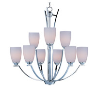 Maxim 20026SWPC Rocco 9 Light 32 inch Polished Chrome Multi-Tier Chandelier Ceiling Light