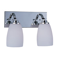 Maxim Lighting Rocco 2 Light Bath Light in Polished Chrome 20027SWPC