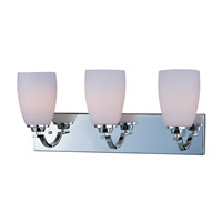 Maxim Lighting Rocco 3 Light Bath Light in Polished Chrome 20028SWPC