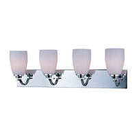 Maxim Lighting Rocco 4 Light Bath Light in Polished Chrome 20029SWPC