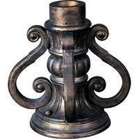 Outdoor Accessory 10 inch Oriental Bronze Pier Mount