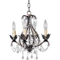 Maxim 20052OI Katherine 4 Light 14 inch Oil Rubbed Bronze Mini Chandelier Ceiling Light