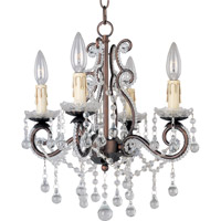 Maxim 20054OI Katherine 4 Light 15 inch Oil Rubbed Bronze Mini Chandelier Ceiling Light