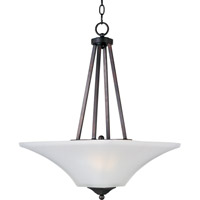 Maxim 20093FTOI Aurora 2 Light 16 inch Oil Rubbed Bronze Pendant Ceiling Light