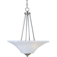 Aurora 2 Light 16 inch Satin Nickel Pendant Ceiling Light