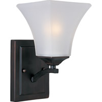 Maxim Lighting Aurora 1 Light Wall Sconce in Oil Rubbed Bronze 20098FTOI