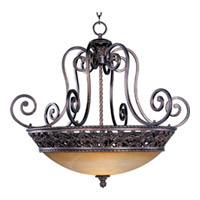 Maxim Lighting Portofino 4 Light Pendant in Oil Rubbed Bronze 20283VAOI