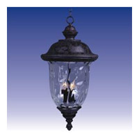 Maxim Lighting Carriage House 3 Light Outdoor Hanging Lantern in Oriental Bronze 20428WGOB photo thumbnail