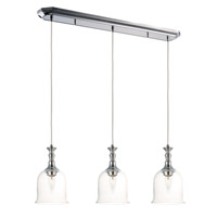Maxim 20473CLPN Centennial 3 Light 6 inch Polished Nickel Multi-Light Pendant Ceiling Light