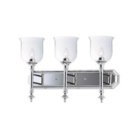 Centennial 3 Light 24 inch Polished Nickel Bath Vanity Wall Light