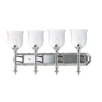 Centennial 4 Light 30 inch Polished Nickel Bath Vanity Wall Light