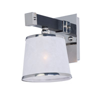 Maxim 20521WFWEPN Maritime 1 Light 7 inch Wenge and Polished Nickel Wall Sconce Wall Light