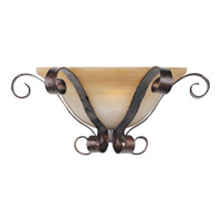 Aspen 1 Light 15 inch Oil Rubbed Bronze Wall Sconce Wall Light