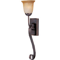 Maxim Lighting Aspen 1 Light Wall Sconce in Oil Rubbed Bronze 20618VAOI
